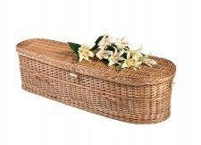 Biodegradable Willow Pet Caskets